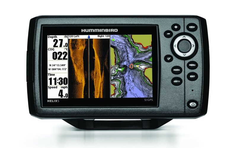 humminbird helix 5 review » sonar wars, Fish Finder