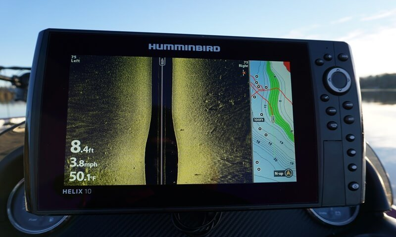 humminbird helix 10 si gps review » sonar wars, Fish Finder
