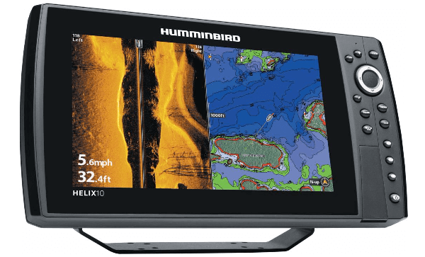 humminbird helix 10 si gps review » sonar wars, Fish Finder