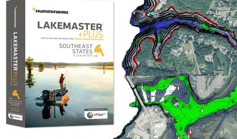 Humminbird Lakemaster PLUS GPS Map Card Review Sonar Wars - Lake mapping software
